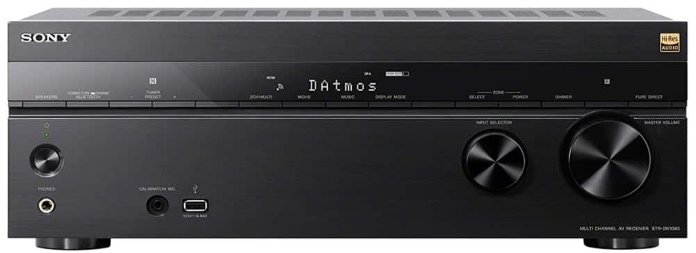 Sony STR-DN1080 - best stereo amplifier under 1000