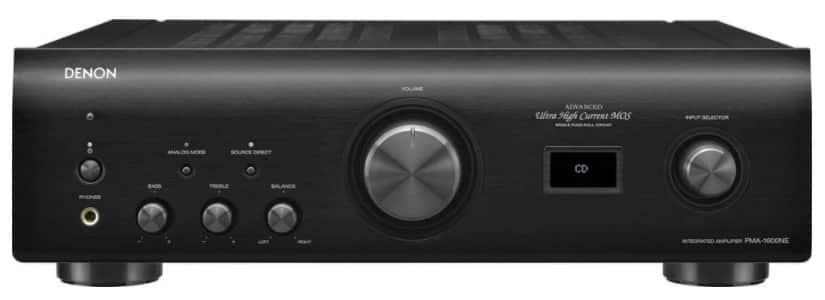 Denon PMA-1600NE - best stereo amplifier under 1000