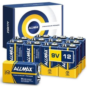ALLMAX - BEST 9V BATTERY