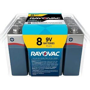 RAYOVAC - BEST 9V BATTERY