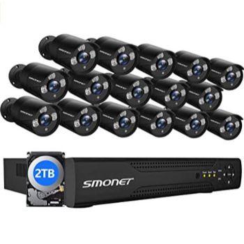 SMONET - BEST POE SECURITY CAMERA SYSTEM