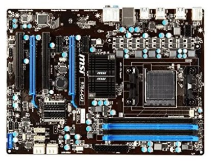 MSI 970A-G43 - best am3+ motherboard