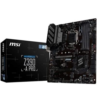 MSI Z390-A - BEST I9 MOTHERBOARD