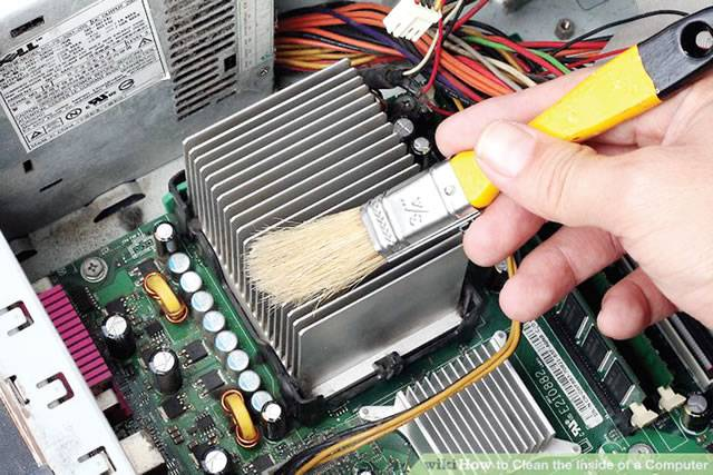 dusted - How to clean motherboard