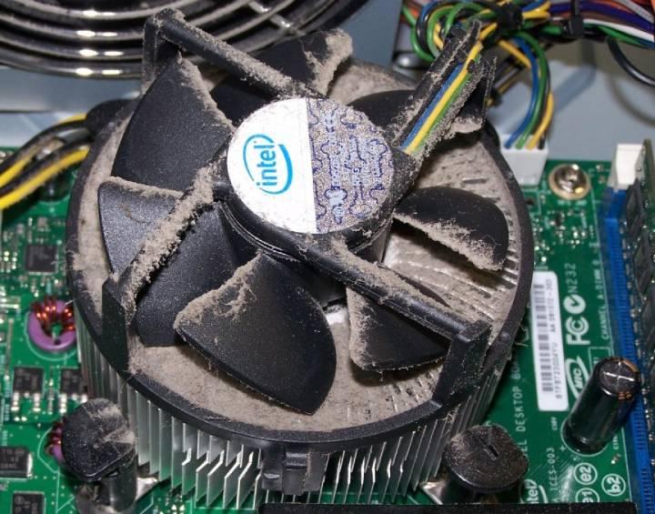usty fan - GPU Fans Not Spinning