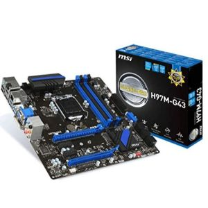 MSI H97M-G43 - BEST 1150 MOTHERBOARD FOR GAMING